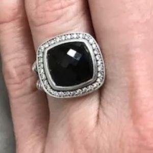 David Yurman 11mm Albion Onyx Ring